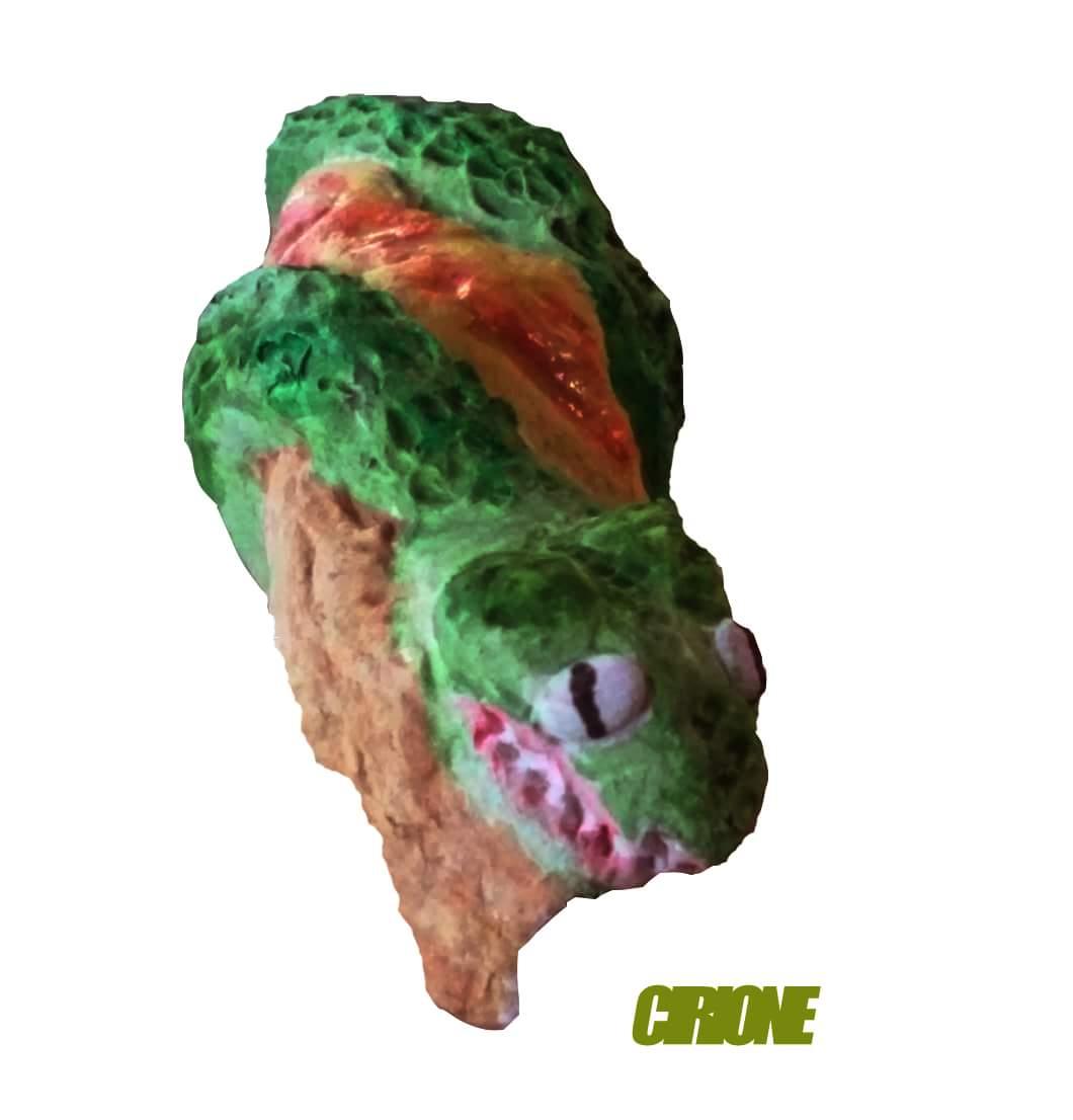 dinosuario 3D masa de modelar