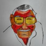 Retrato Stan Lee