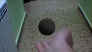 Bola de piedra 3D